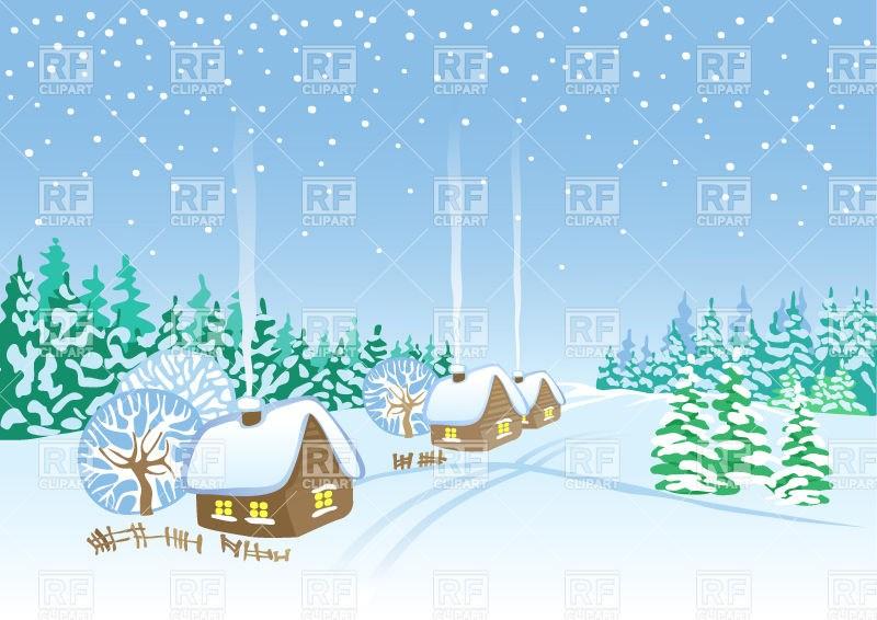 Snow village clipart 4 » Clipart Portal.