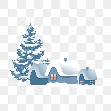 Snow Village Png, Vector, PSD, and Clipart With Transparent.