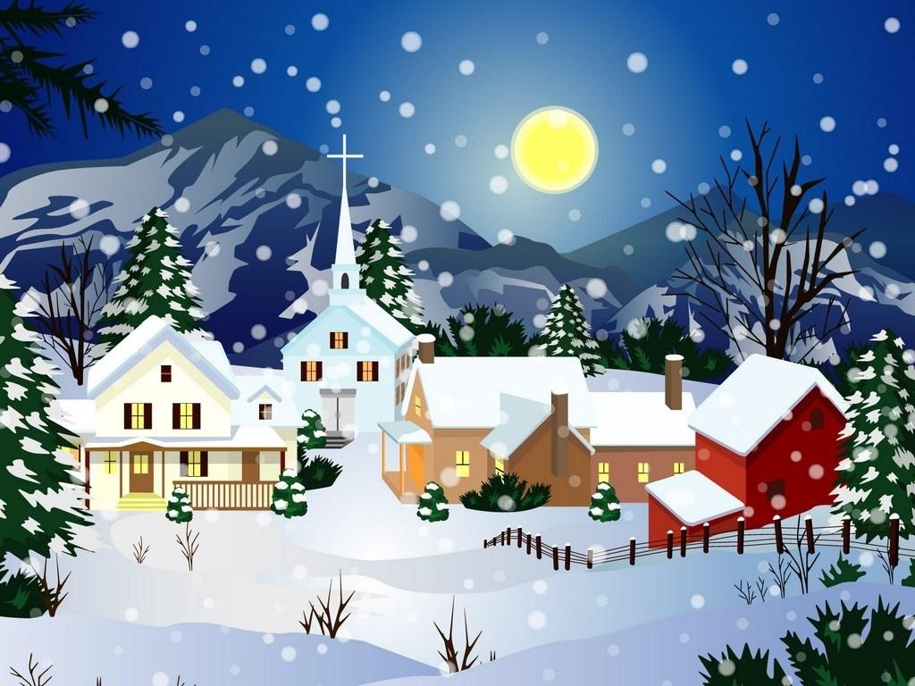 Snow village clipart 9 » Clipart Portal.