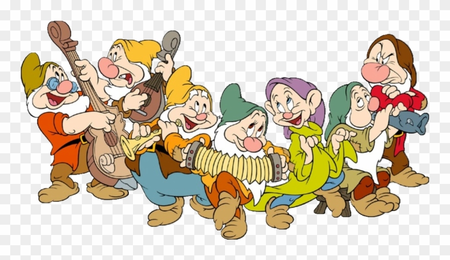 Snow White And The Seven Dwarfs Png Free Download Clipart.
