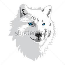 Image result for snow wolf clipart.