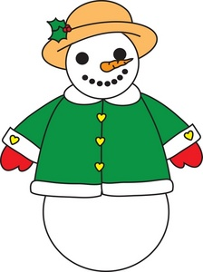 Snow Woman Clipart.