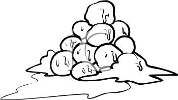Snowball Clip Art.