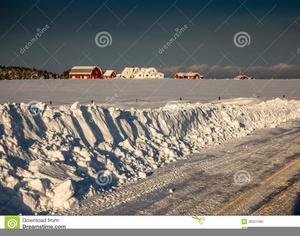 Snowbank Clipart.