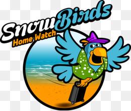 Snowbird PNG and Snowbird Transparent Clipart Free Download..