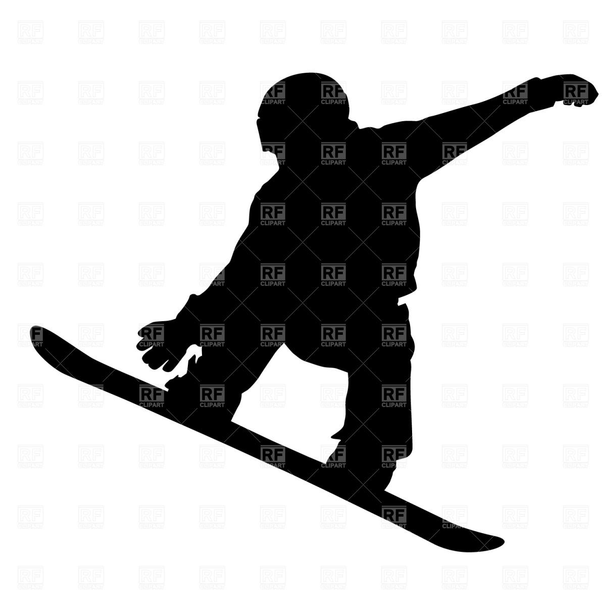 Snowboarder Vector Image #1251.