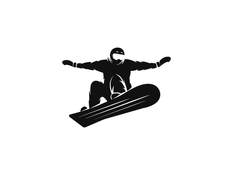 Snowboarder by Sergii Syzonenko on Dribbble.