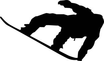 Snowboarding Clipart.