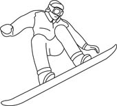 Free Snowboarding Clipart Black And White, Download Free.