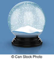 Snow dome Illustrations and Clipart. 725 Snow dome royalty free.