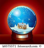 Snowdome Clip Art and Illustration. 32 snowdome clipart vector EPS.