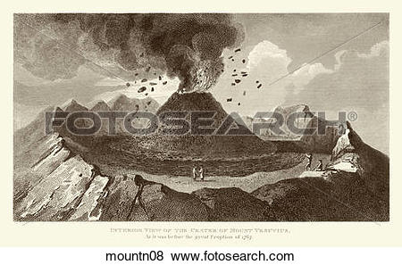 Stock Illustration of Antique Illustration (copper engraving) of a.