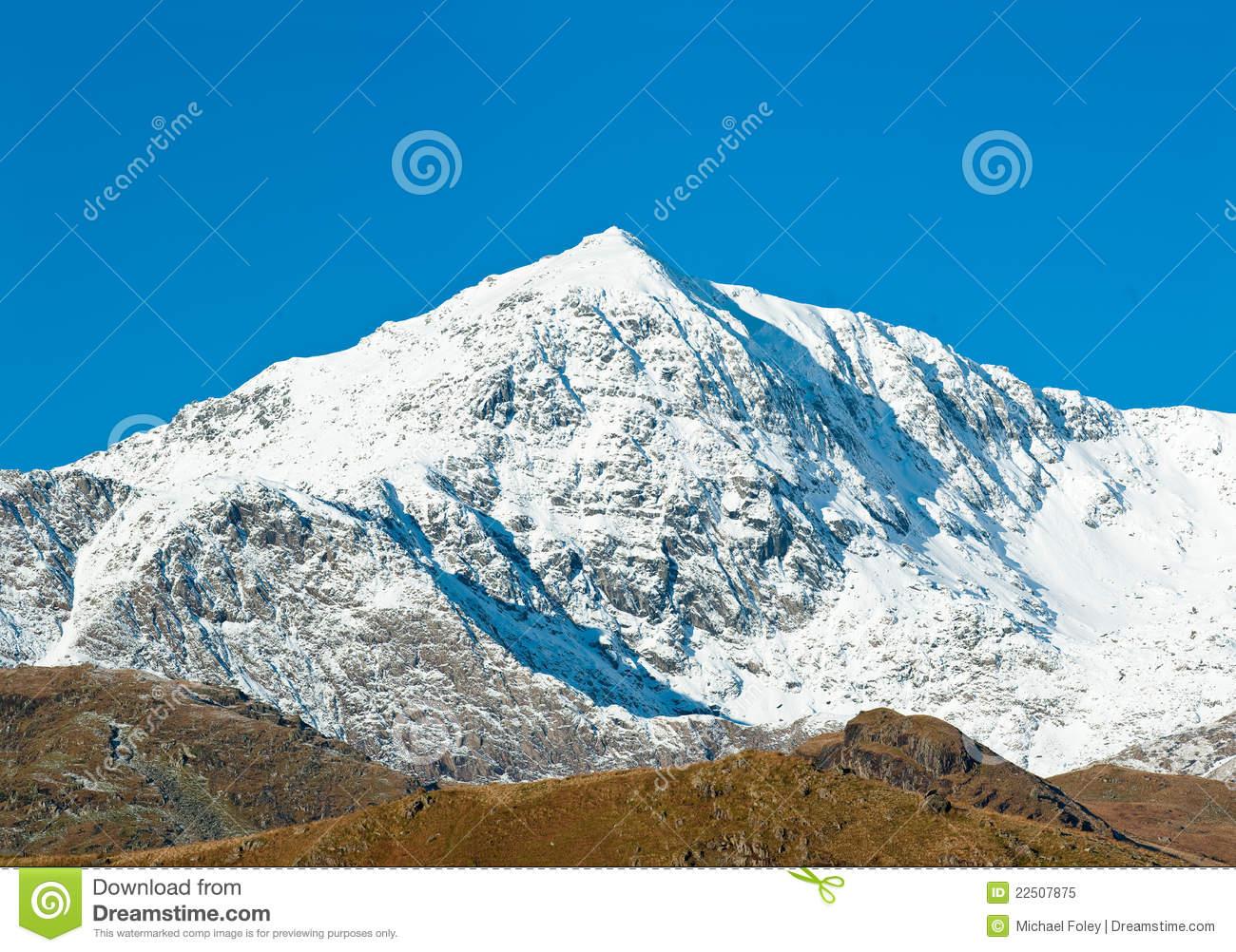 Mount Snowdon Royalty Free Stock Photo.
