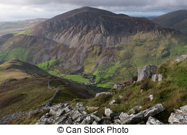 Snowdonia Illustrations and Clipart. 6 Snowdonia royalty free.