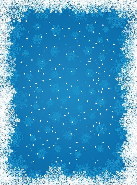 Free Blue Snowflake Backgrounds Clipart and Vector Graphics.