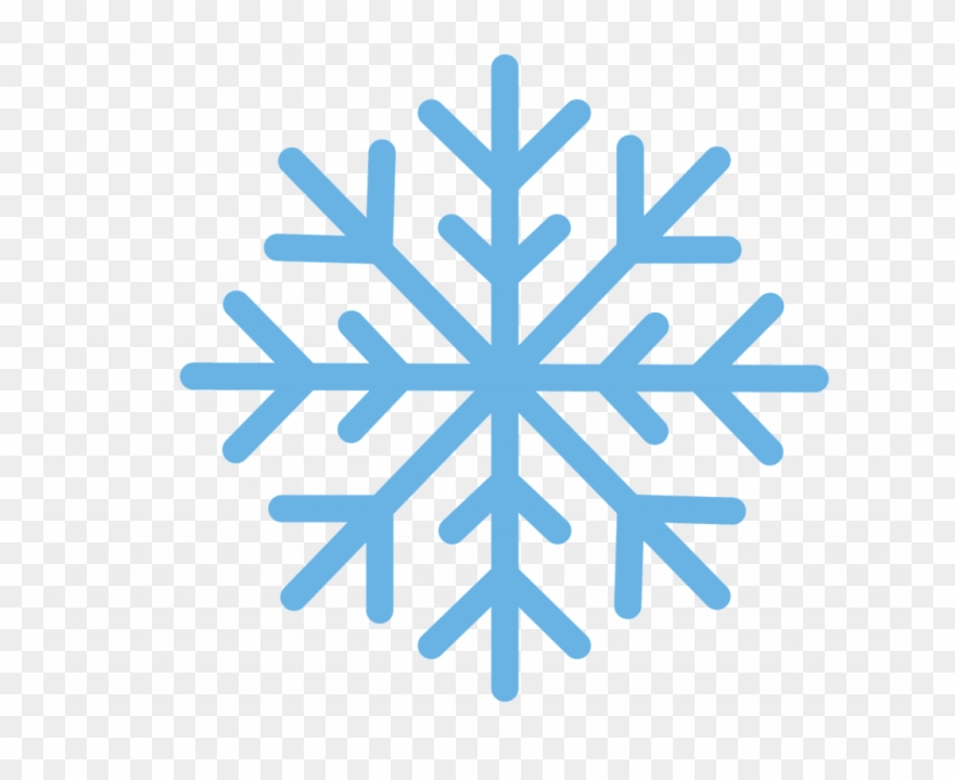 Snowflake Cartoon Clipart (#471795).