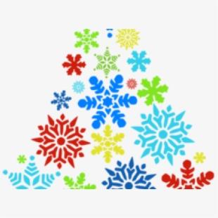 Christmas Snowflakes Clipart.
