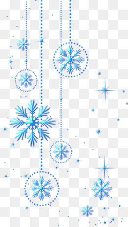 Christmas Snowflake Background.