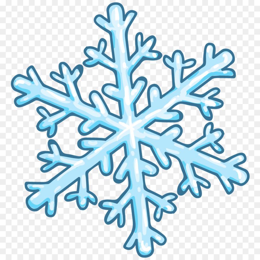 Snowflake Cartoon.