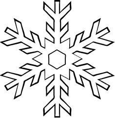 73+ White Snowflake Clipart.