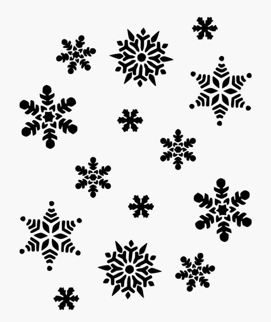 Black And White Snowflake Snowflakes Black And White.