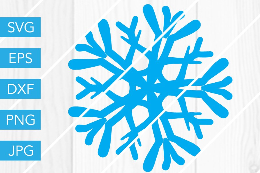 Snowflake SVG for Cricut.