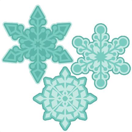 Snowflake Winter SVG scrapbook cut file cute clipart files.