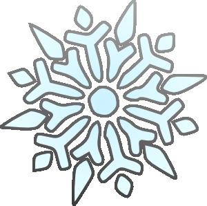 Snowflake Clipart Transparent Background.