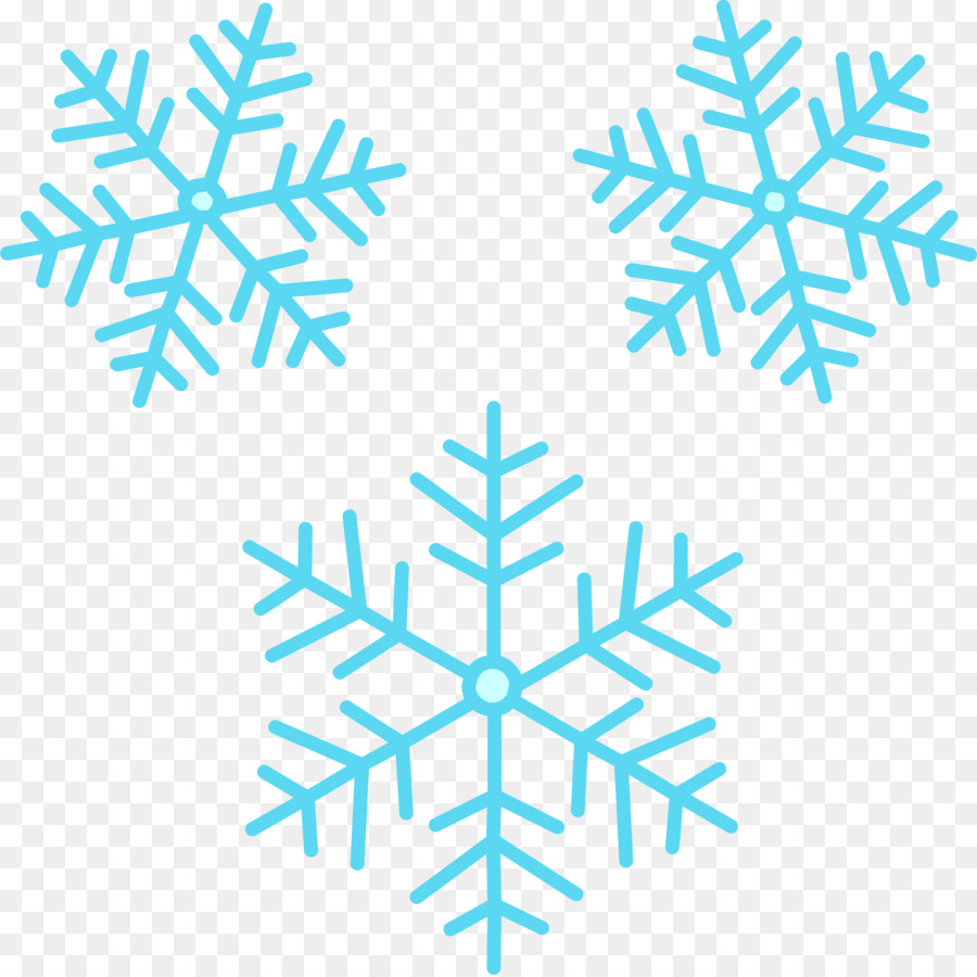 Snowflake Cartoon clipart.