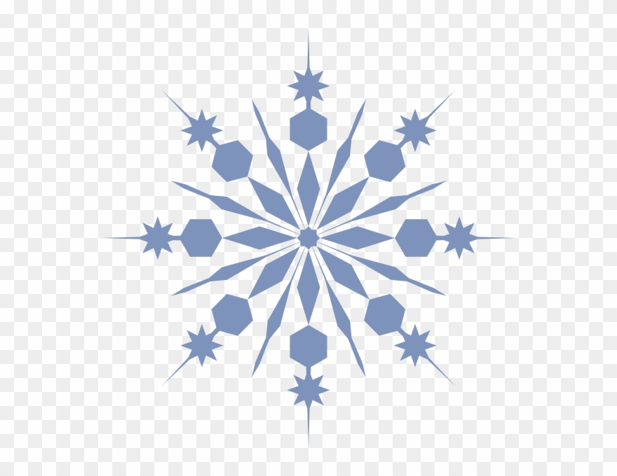 Snowflake Clip Art At Clker.