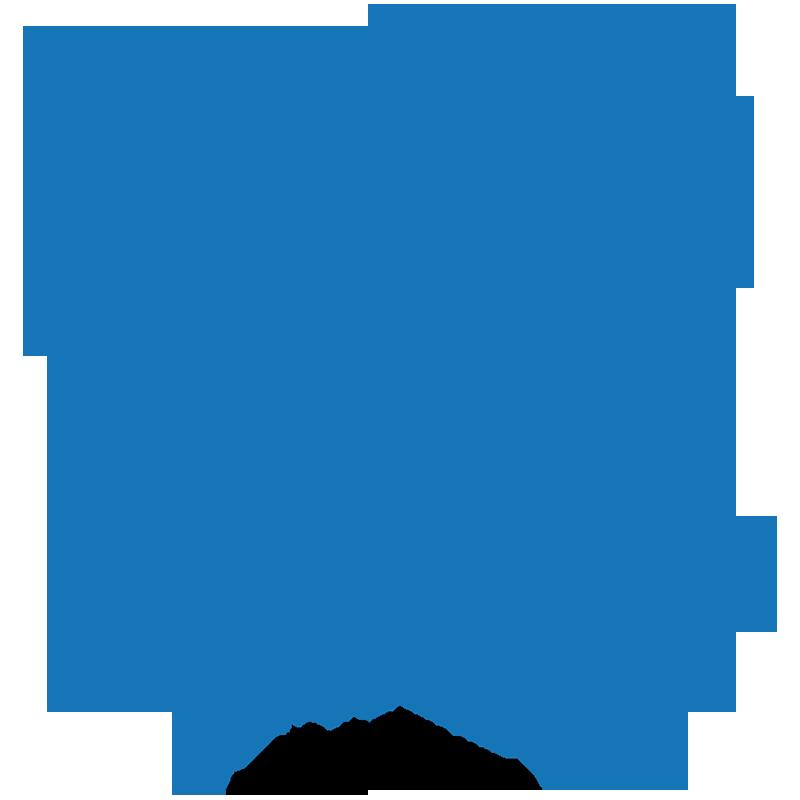 Snowflake clipart illustration, Snowflake illustration.