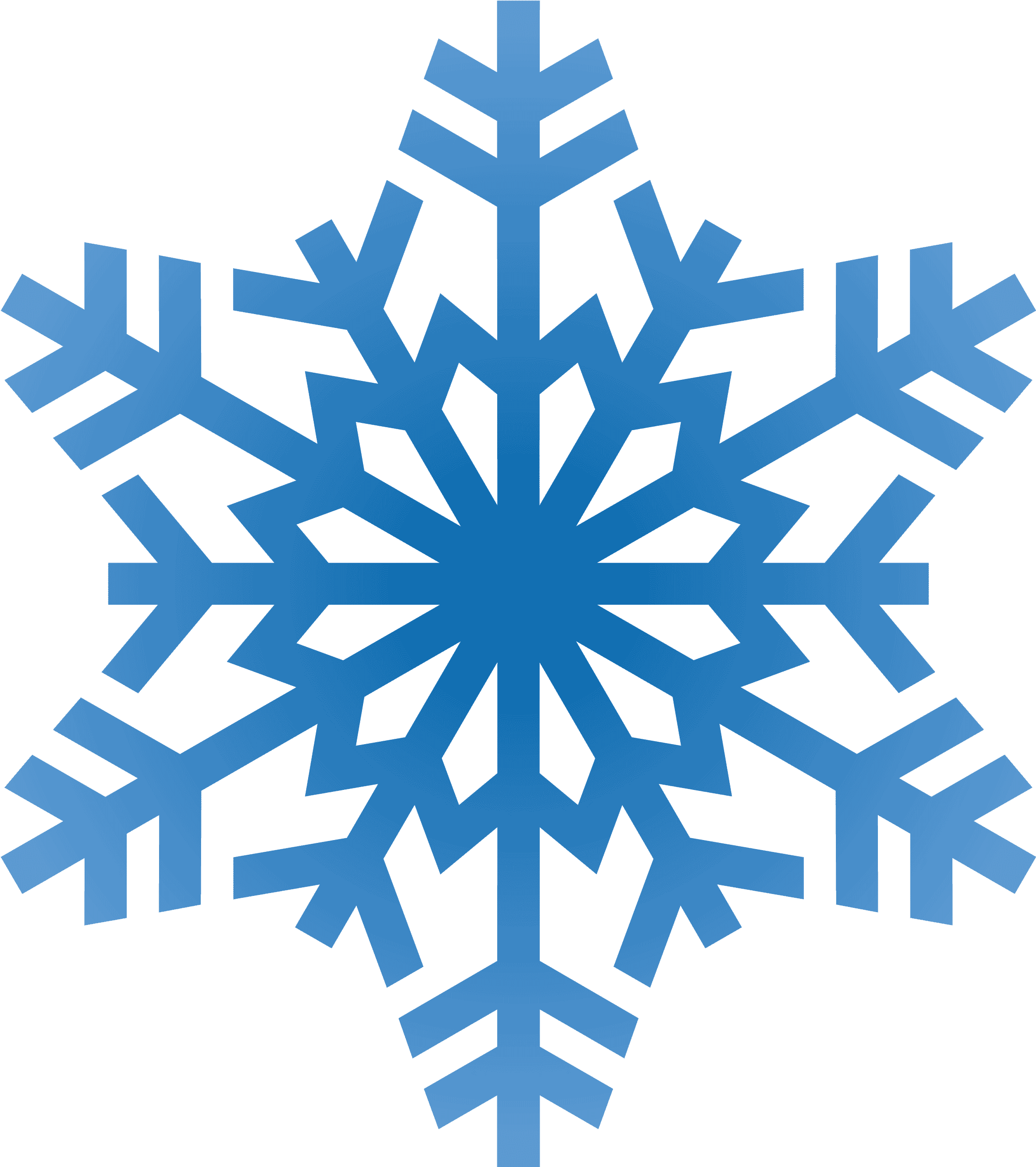 Winter Clipart Transparent Background Snowflake.