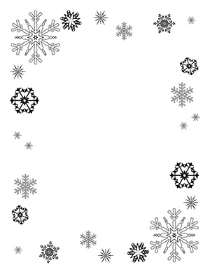 Free Snowflake Frame Cliparts, Download Free Clip Art, Free.