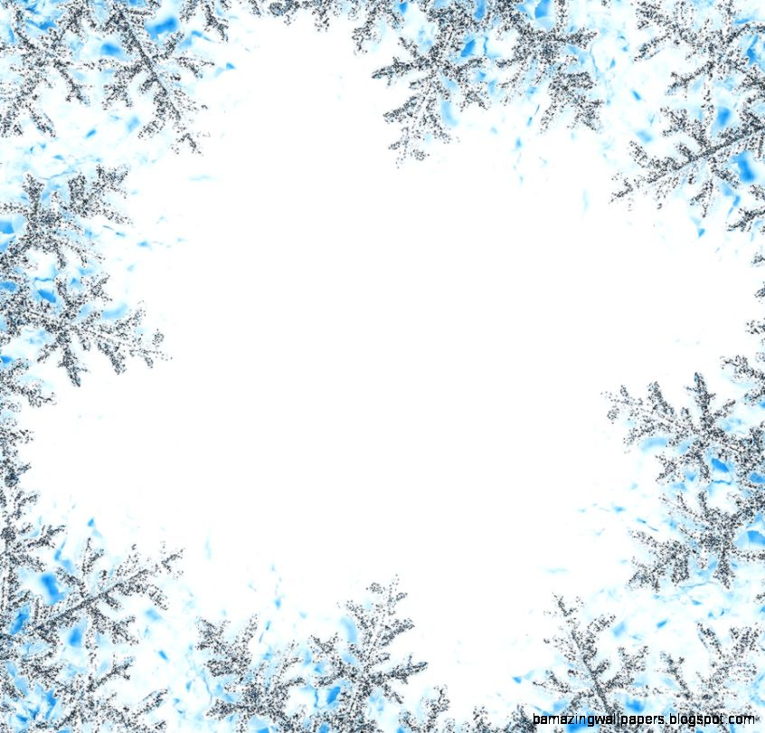 Snowflake Frame Cliparts 20.
