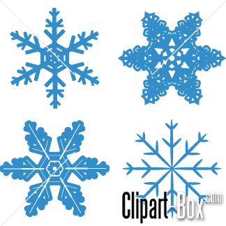 CLIPART SNOWFLAKES.