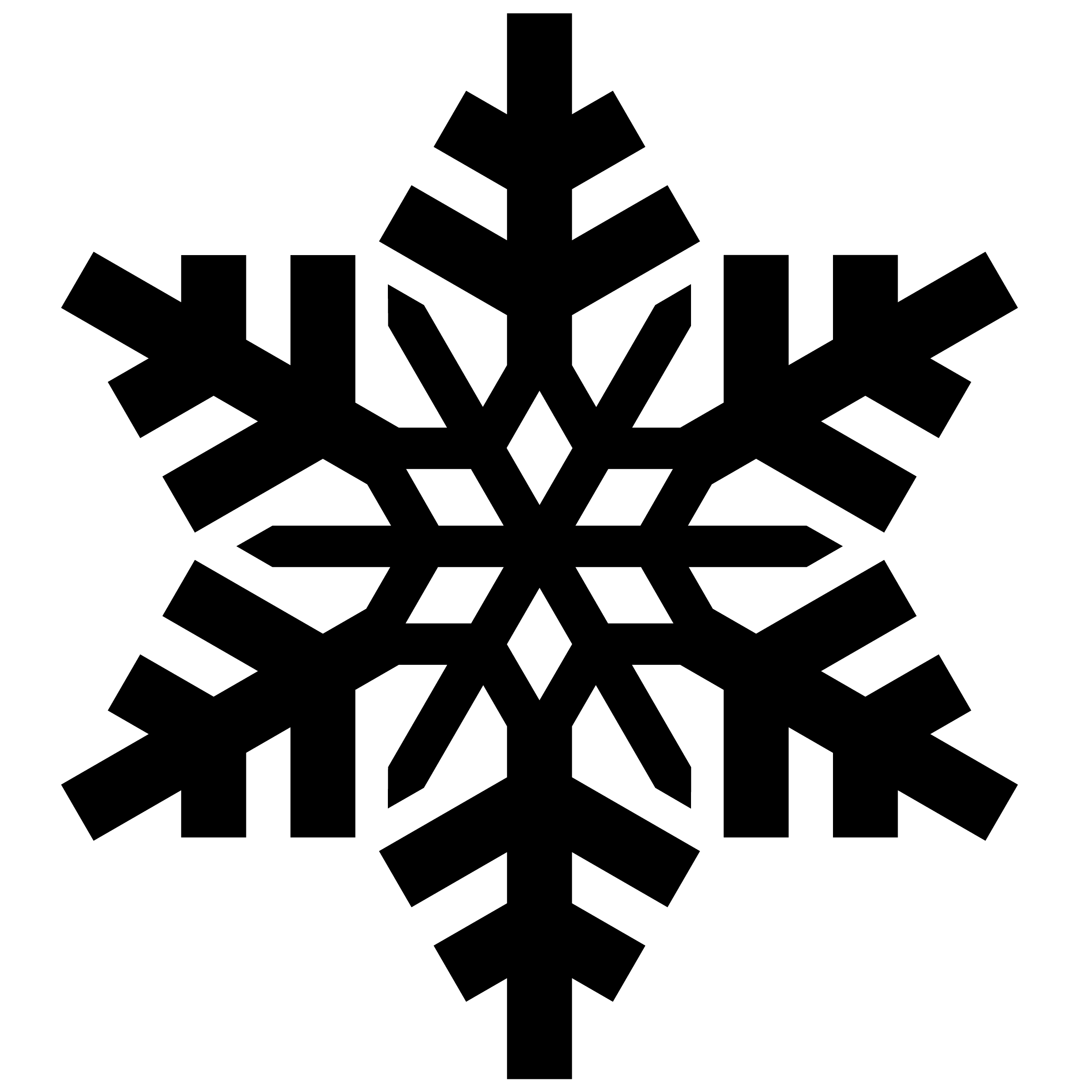 Free Snowflake Icon Transparent, Download Free Clip Art.