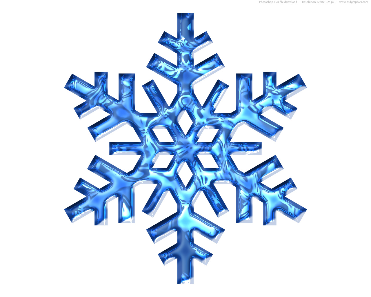 Full Size Jpg Preview Blue Snowflake Icon clipart free image.