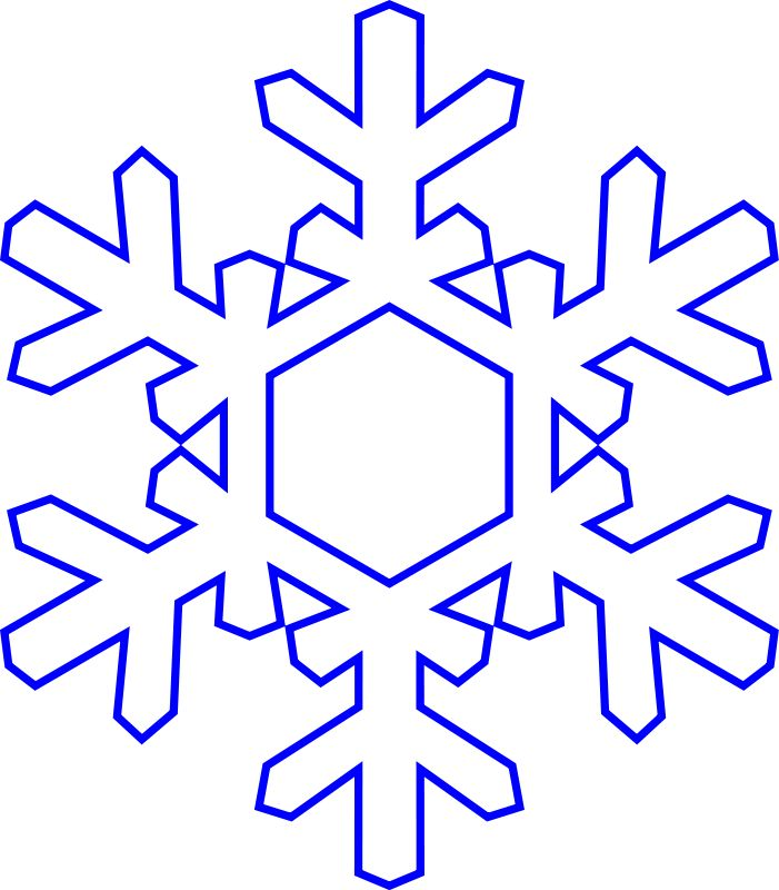 Snowflakes snowflake clipart google search ornaments 4.
