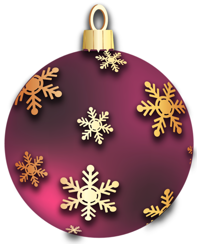 Christmas Ornament Clip Art.