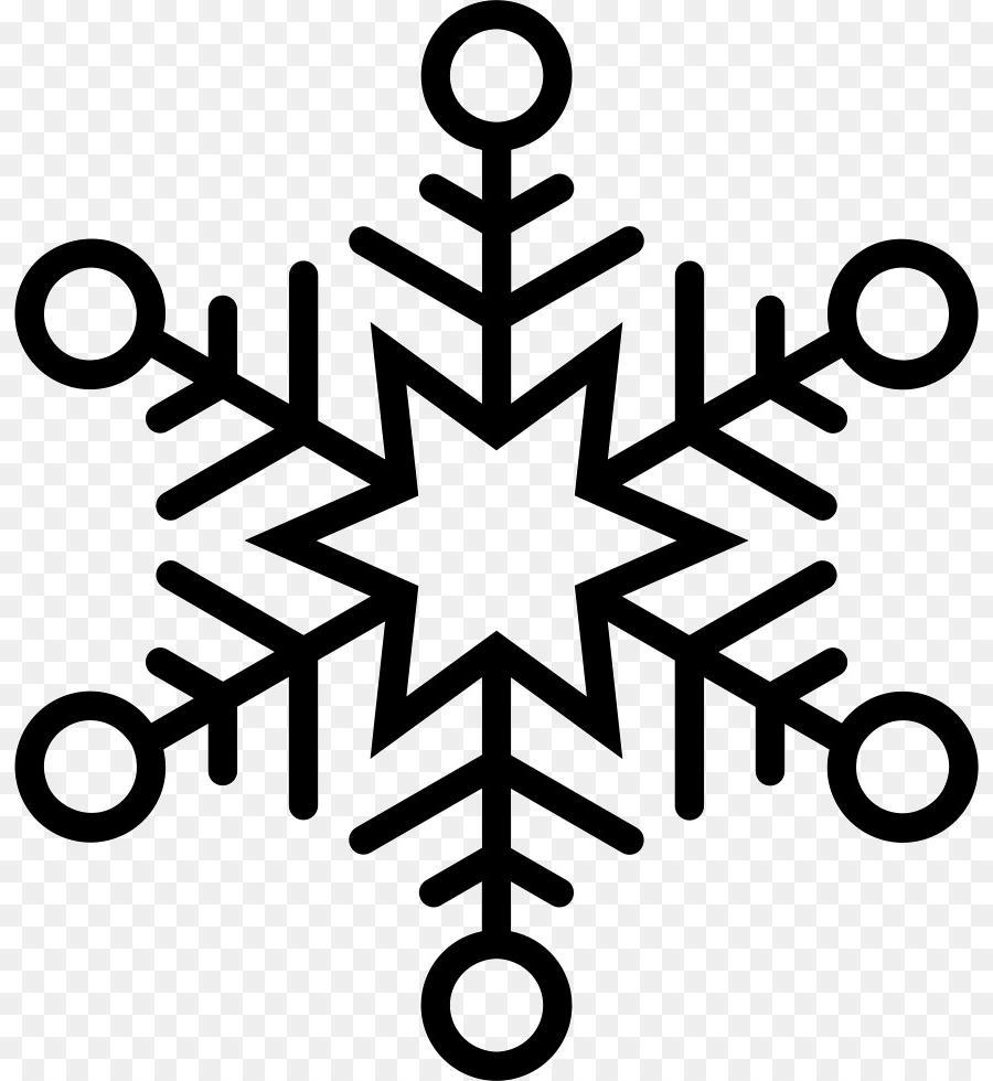 Clipart snowflake outline, Clipart snowflake outline.