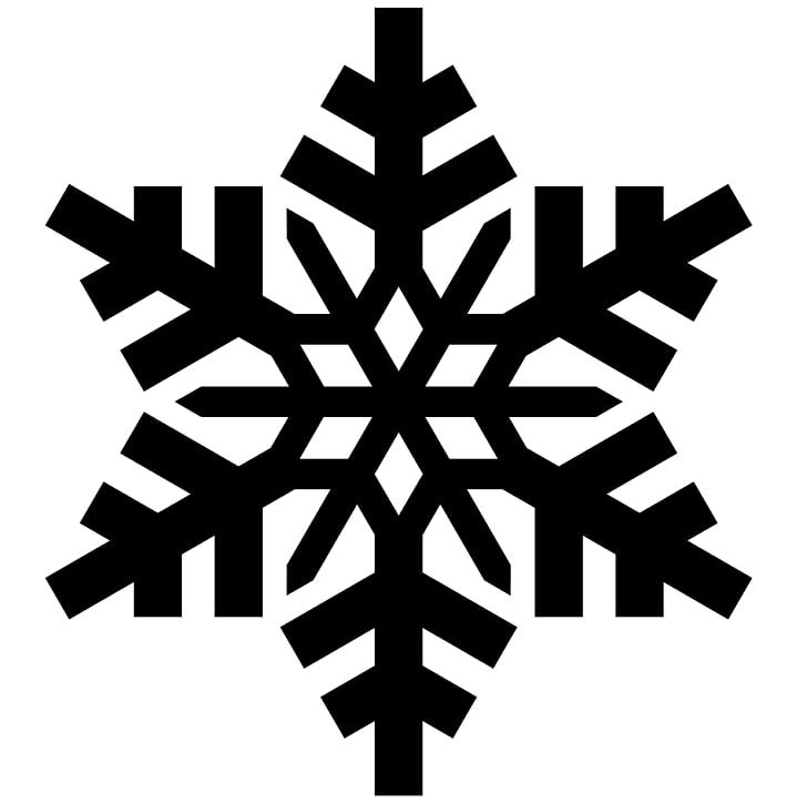 Snowflake Silhouette PNG, Clipart, Black And White, Cold.
