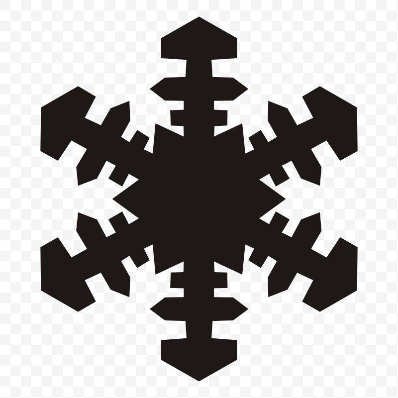 Snowflake Silhouette Clip Art, PNG, 1600x1600px, Snowflake.