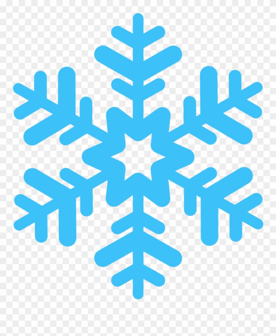Snowflake Vector Clipart (#2739520).
