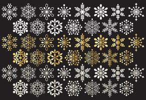 Snowflake Clipart Free Vector Art.