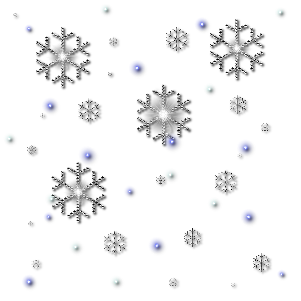 Png Snowflakes Falling Best Clipart #34498.