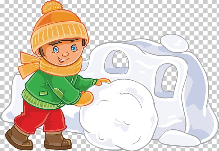 Snow Fort Winter PNG, Clipart, Boy, Child, Encapsulated.