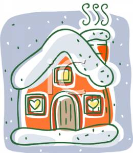 House Covered in Snow Clipart (73+).