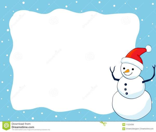 25+ Snowman Holiday Clip Art Borders Landscape Pictures and.