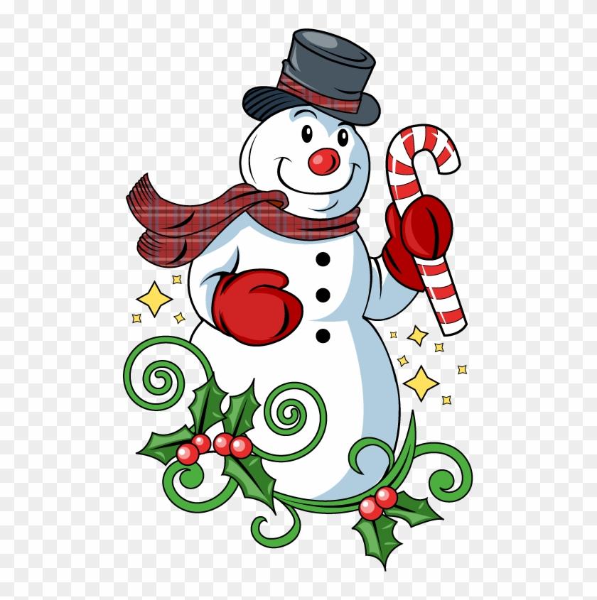 Christmas Clip Art Snowman.
