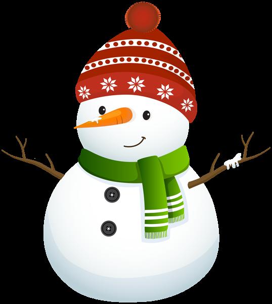 Cute Snowman Clipart Images.